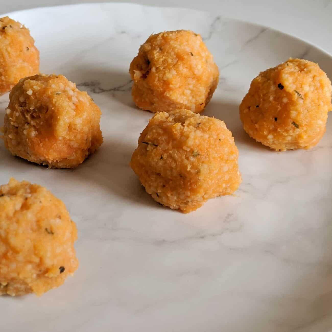 Sweet Potato and Couscous Squashies
