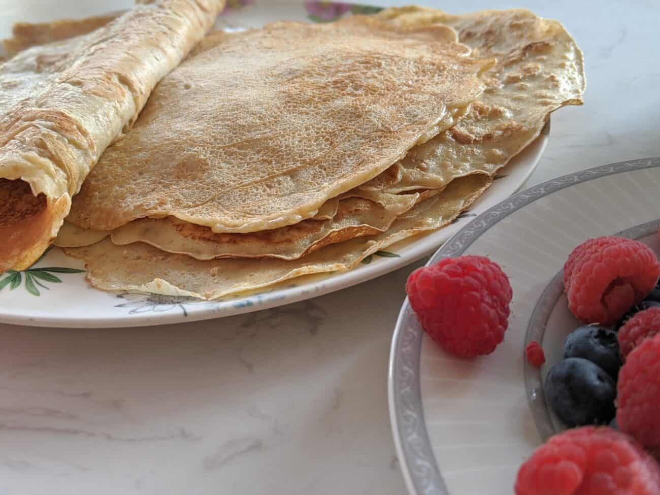 Wholemeal Crêpes