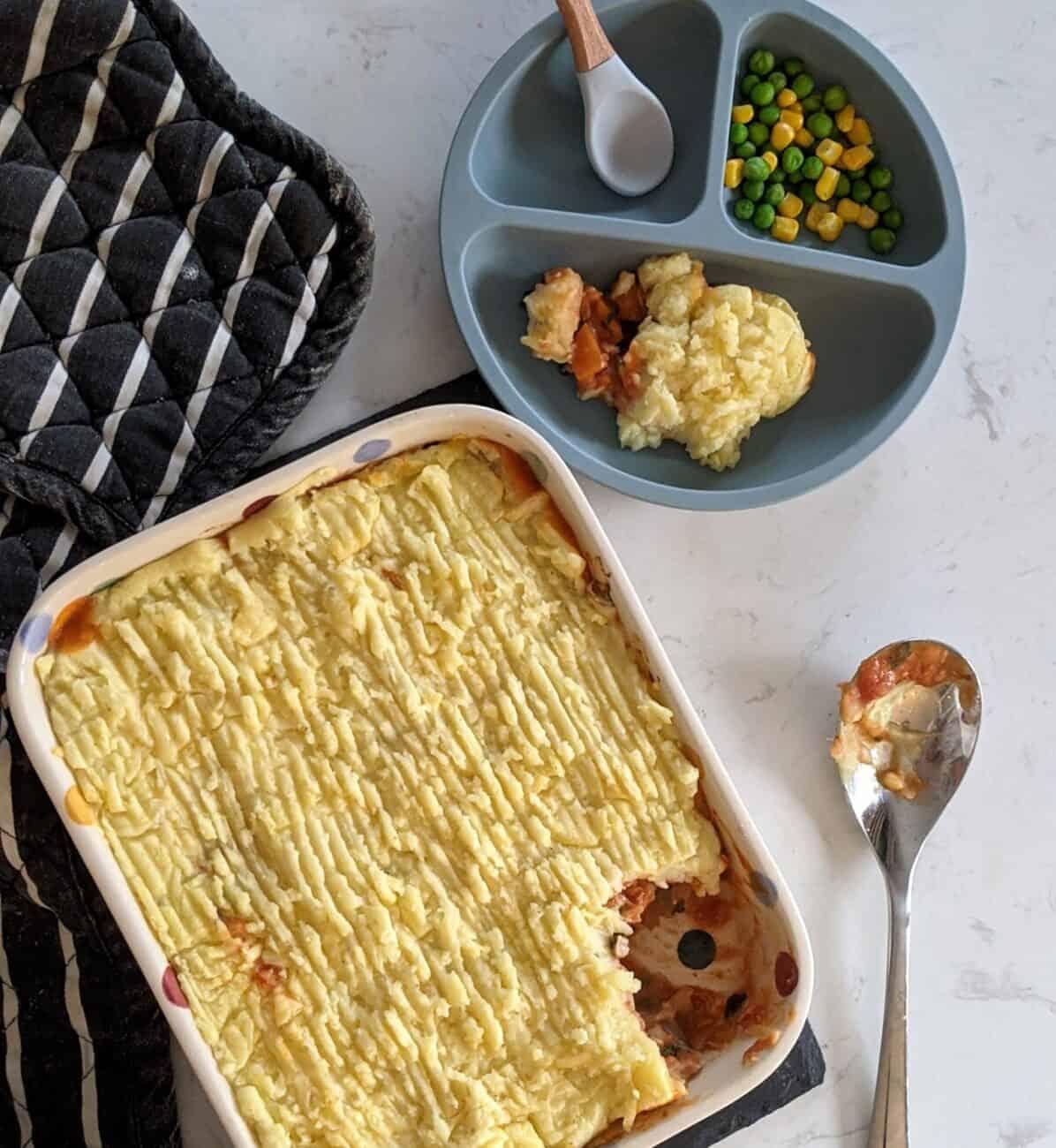 Mediterranean Fish Pie