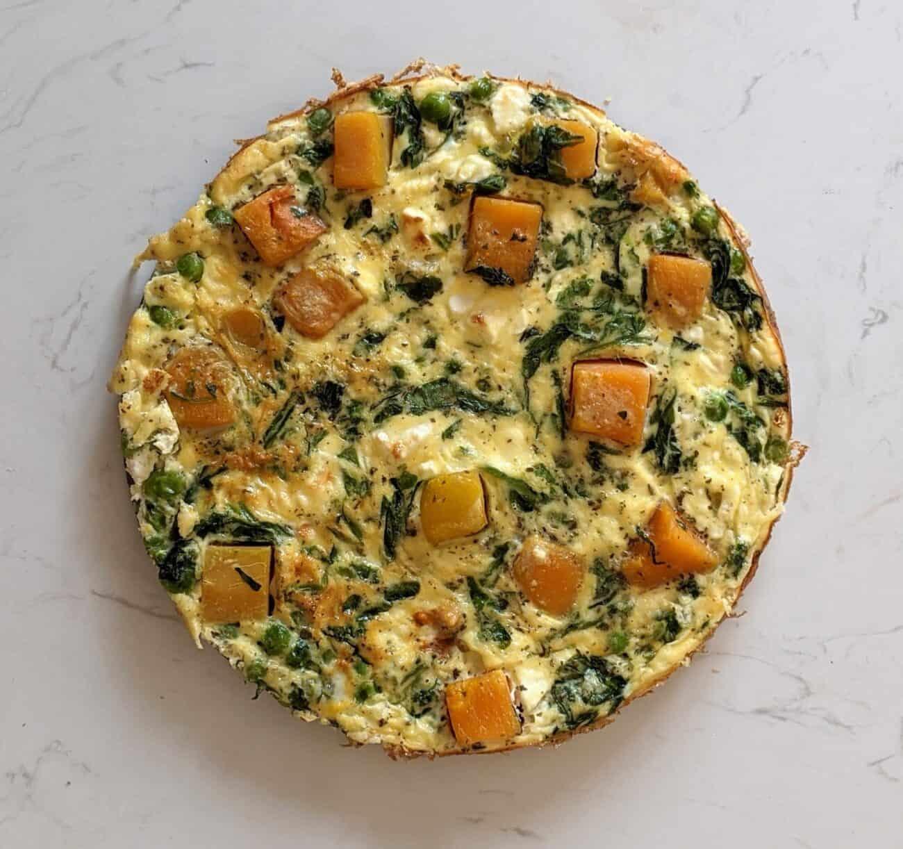 Baked Veggie Frittata